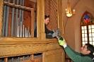 Abbau der Orgel am Weißensee_5