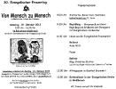 Einladung zum 30. Evang. Frauentag in Weissbriach