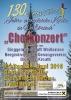 Einladung zum Kirchenkonzert anlässlich des 130-jährigen Jubiläums der Kirche in Weißbriach