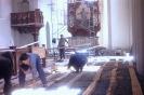 Kirchenrenovierung am Weissensee 1964_14