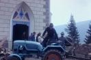Renovierung der Kirche in Weissbriach 1963