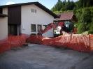 Sanierung am Pfarrhaus in Weissbriach